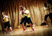 "Spettacolo The Golden Dance 2 coreografia ""Zumba"""
