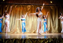 "Spettacolo The Golden Dance 2 coreografia ""Fanveils 1"""